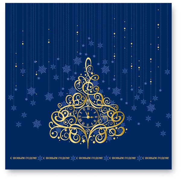 Пример новогодней открытки 22